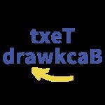 Icon 文字倒序產生器